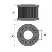 Sportovní filtr Green JEEP CHEROKEE 2,1L TD (XJ) výkon 64kW (87hp) typ motoru J8S rok výroby 88-