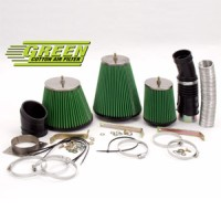 Kit přímého sání Green JEEP WRANGLER 2,5L i (YJ) výkon 76kW (103hp) rok výroby 88-91