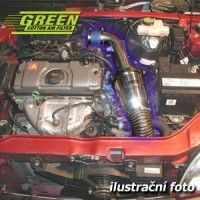 Air Intake System Green Speed'r TWISTER Jeep Wrangler 2,5L i (TJ) výkon 87KW (118hp) -- rok výroby 96-03