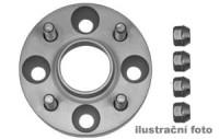 HR podložky pod kola (1pár) JEEP Cherokee KJ+XJ+J rozteč 114,3mm 5 otvorů stř.náboj 71,5mm -šířka 1podložky 25mm /sada obsahuje montážní materiál (šrouby, matice)