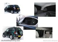 Privacy Shades přesné protisluneční clony - 6 dílná sada Jeep Commander 5dv. -- od roku výroby 2006-
